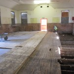 Lifting old floor